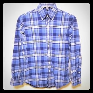 Ralph lauren Men's plaid button down shirt